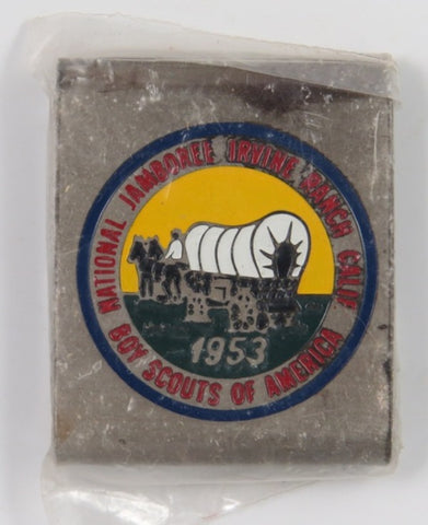 1953 National Jamboree JSP Irvine Ranch Calif. BSA Commemorative Belt Loop [C3]