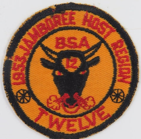 1953 Jamboree Host Region Twelve BSA BLK Bdr. [C5]