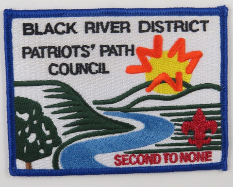 Patriot's Path Council Black River District Second To None BLU Bdr. [C-669]