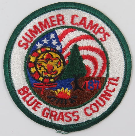 Blue Grass Council Summer Camps DGR Bdr. [C-671]