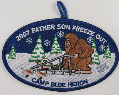 2007 Father Son Freeze Out Camp Blue Heron DBL Bdr. [C-682]