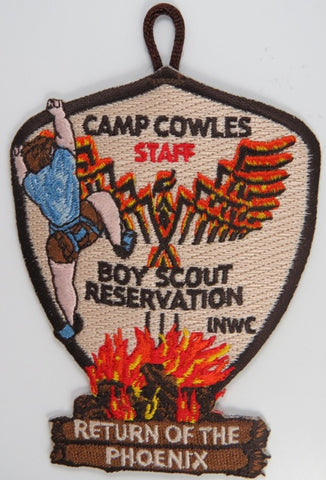 Camp Cowles Staff Boy Scout Reservation INWC Return Of The Phoenix DBR Bdr.  [C-711]