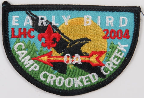 2004 LHC Early Bird Camp Crooked Creek OA BLK Bdr. Lincoln Heritage Council [C-715]