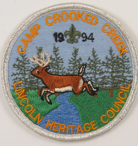 1994 Lincoln Heritage Council Camp Crooked Creek SMY Bdr. [C-737]
