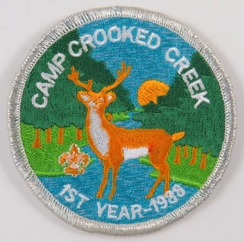 1998 1st Year Camp Crooked Creek SMY Bdr. Lincoln Heritage Council [C-741]