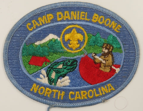 Camp Daniel Boone North Carolina LBL Bdr. [C-751]