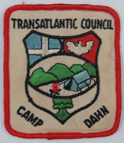Transatlantic Council Camp DAHN RED Bdr. [C-754]
