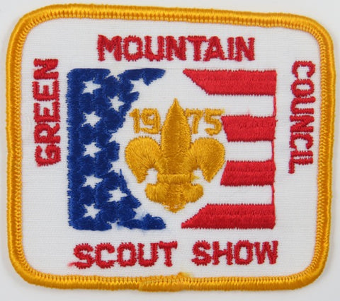 1975 Green Mountain Council Scout Show DYL Bdr. [C-759]