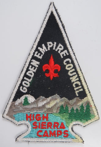 Golden Empire Council High Sierra Camps WHT Bdr. [C-762]
