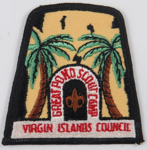 Virgin Islands Council Great Pond Scout Camp BLK Bdr. [C-764]