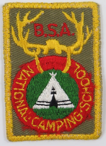 National Camping School BSA YEL Bdr. (sewn) [C-783]