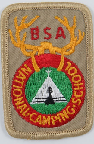 National Camping Shool BSA LBR Bdr. [C-785]