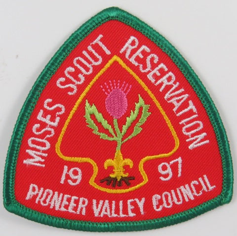 1997 Pioneer Valley Council Moses Scout Reservation DGR Bdr. [C-787]