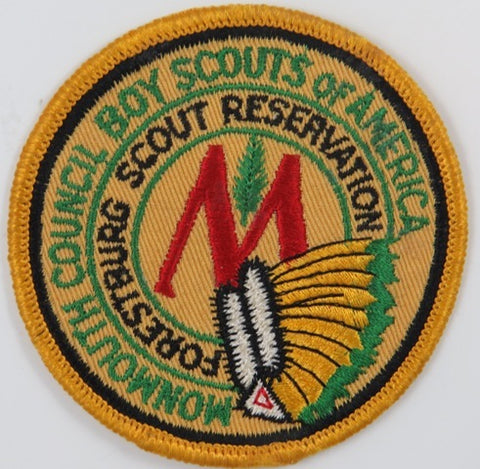 Monmouth Council Boy Scouts Of America Forestburg Scout Reservation YOR Bdr. [C-802]