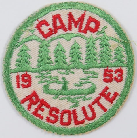1953 Camp Resolute LGR Bdr. [C-822]