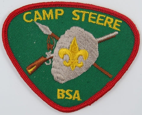 Camp Steere BSA RED Bdr. [C-834]
