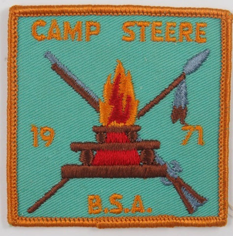 1971 Camp Steere BSA ORG Bdr. [C-839]