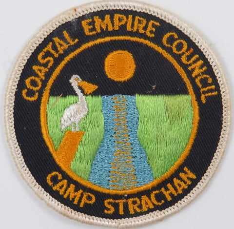 Coastal Empire Council Camp Strachan WHT Bdr. [C-840]