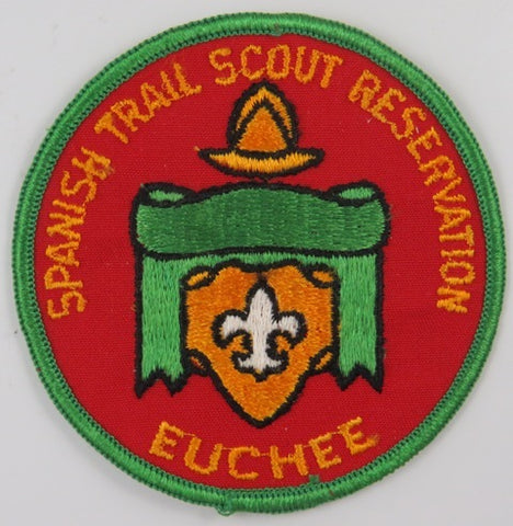 Spanish Trail Scout Reservation Euchee GRN Bdr. [C-843]