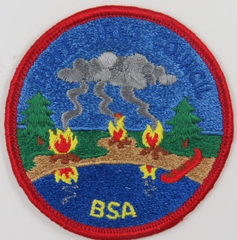 Three Fire Council CP BSA RED Bdr. [C-849]