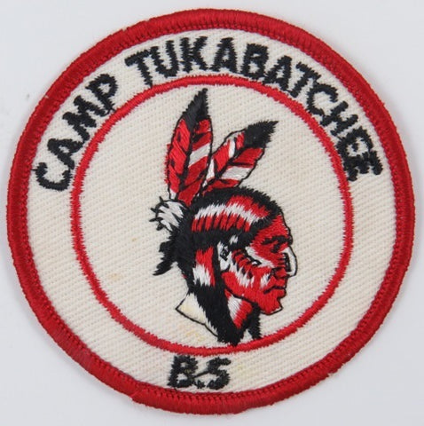 Camp Tukabatchee B.S RED Bdr. [C-851]