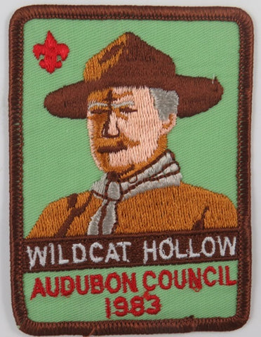 1983 Audubon Council Wildcat Hollow DBR Bdr. [C-856]
