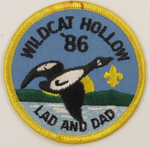 86 Wilcat Hollow LAD And DAD YEL Bdr. [C-858]
