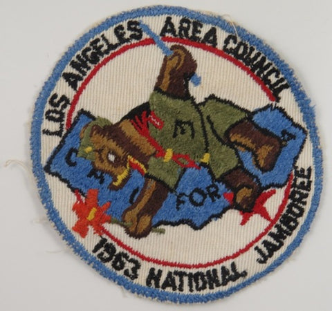 1953 National Jamboree Los Angeles Area Council California LBL Bdr. [C8]