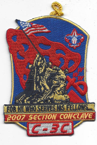 2007 Section C-3C Conclave Patch