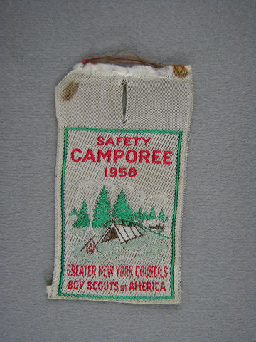 1958 Greater New York s Camporee Woven Apatche (worn) [G1933]