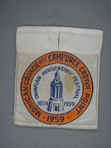 1959 Mohican  Crown Point Champlain Anniversary Festival Woven Apatche (worn) [G1935]