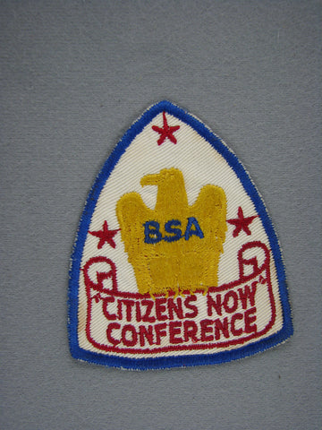 1950s BSA Citizens Now Conference Cut-Edge Patch [G1937]