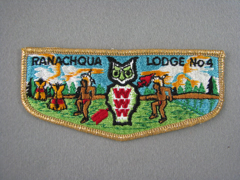 OA Lodge 4 Ranachqua S3 Flap GMY Border Greater New York, The Bronx  Bronx, NY [G1968]
