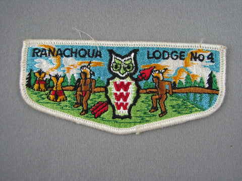OA Lodge 4 Ranachqua S2 Flap Greater New York, The Bronx  Bronx, NY [G1969]