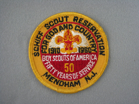 1960 Shiff Scout Reservation 50th Anniversary Patch [G2000]
