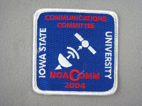 2004 NOAC Order of the Arrow OA Conference Communications Committee Patch