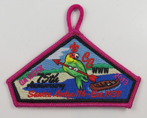 #116 Santee Lodge 2013 OA Week - Scout Patch HQ