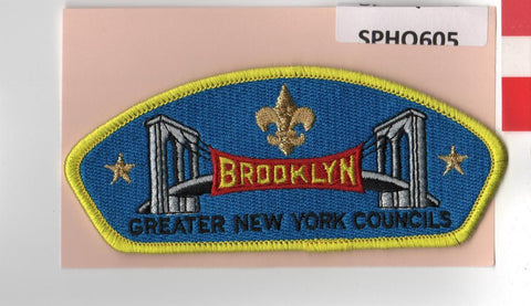 Greater New York Councils The Bronx CSP Yellow Border