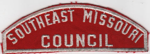 RWS Southeast Missouri  Red & White Shoulder Strip CSP [MO401]