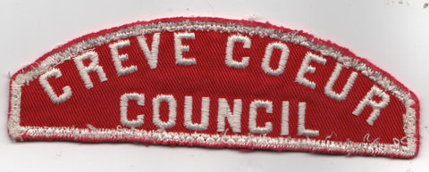 RWS Creve Coeur Council Red & White Shoulder Strip CSP (sewn)
