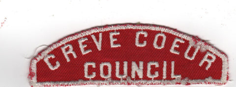 RWS Creve Coeur  Red & White Shoulder Strip CSP (sewn) [MO386]