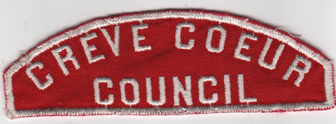 RWS Creve Coeur  Red & White Shoulder Strip CSP (sewn) [MO390]