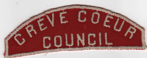 RWS Creve Coeur  Red & White Shoulder Strip CSP (sewn) [MO391]