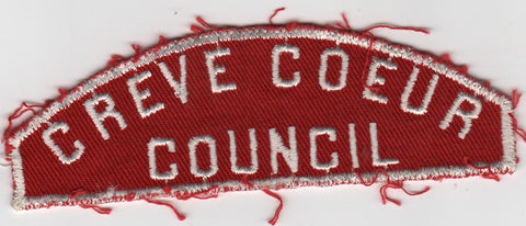 RWS Creve Coeur  Red & White Shoulder Strip CSP (sewn) [MO392]