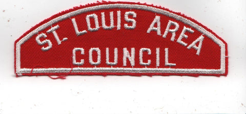 RWS St. Louis Area  Missouri Red & White Shoulder Strip CSP [MO410]