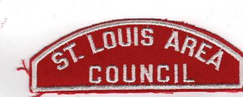 RWS St. Louis Area  Missouri Red & White Shoulder Strip CSP [MO411]