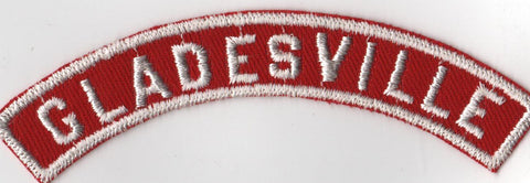 GLADESVILLE RWS Red & White Community Strip (tacky backing, otherwise mint) [RWS297]<<
