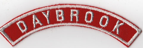 DAYBROOK RWS Red & White Community Strip (tacky backing, otherwise mint) [RWS302]<<