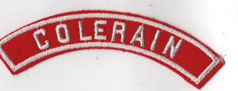 COLERIAN RWS Red & White Community Strip (tacky backing, otherwise mint)