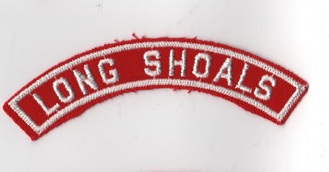 LONG SHOALS RWS Red & White Community Strip [RWS403]<<